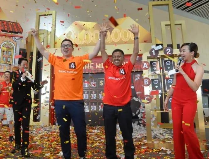 Changi Airport's Millionaire Grand Draw has a winner