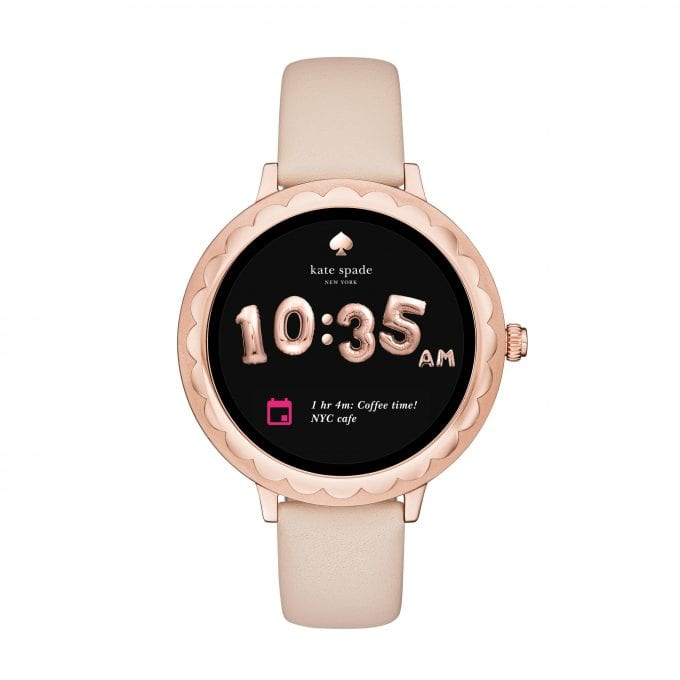 Kate Spade New York unveils touchscreen smartwatch that matches your outfit every day