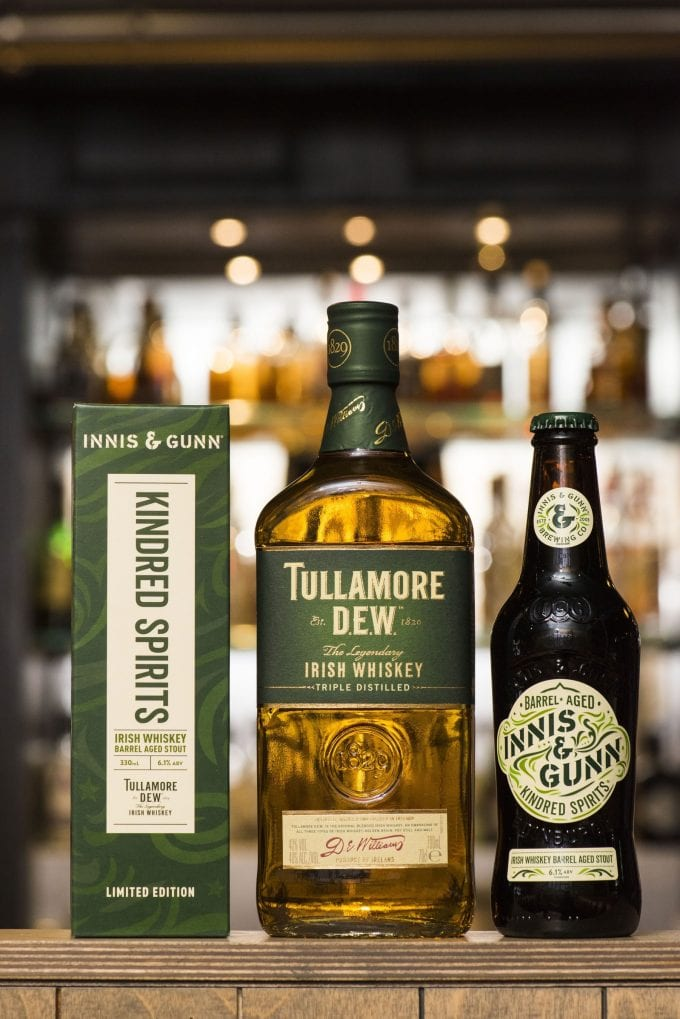 Innis & Gunn and Tullamore D.E.W. combine to launch new limited edition Irish Whiskey Barrel Aged Stout