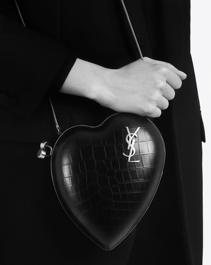 Worth flying for… The YSL Love Box handbag