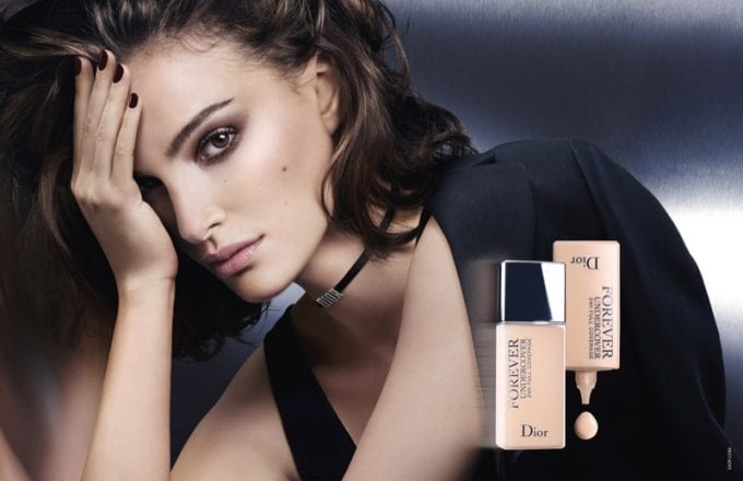 Natalie Portman wows in new Dior Diorskin Forever campaign