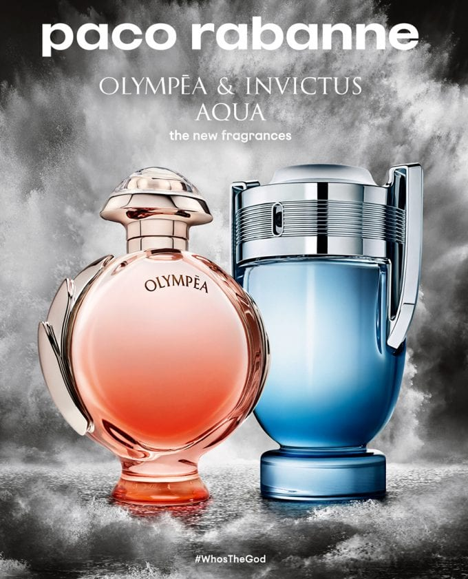 Splash! Paco Rabanne reveals new Aqua editions of its God-like scents