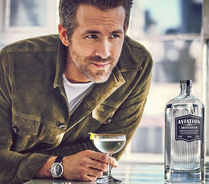 Ryan Reynolds takes the controls at Aviation Gin