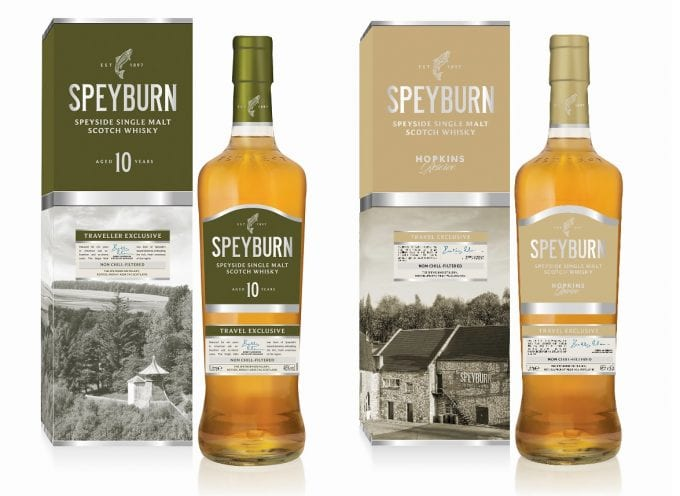Speyburn Single Malt launches with two duty-free exclusive whiskies
