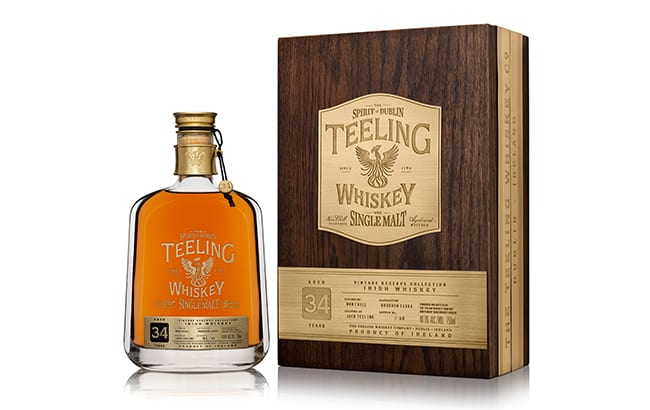 Teeling Whiskey launches 'world's oldest Irish single malt'