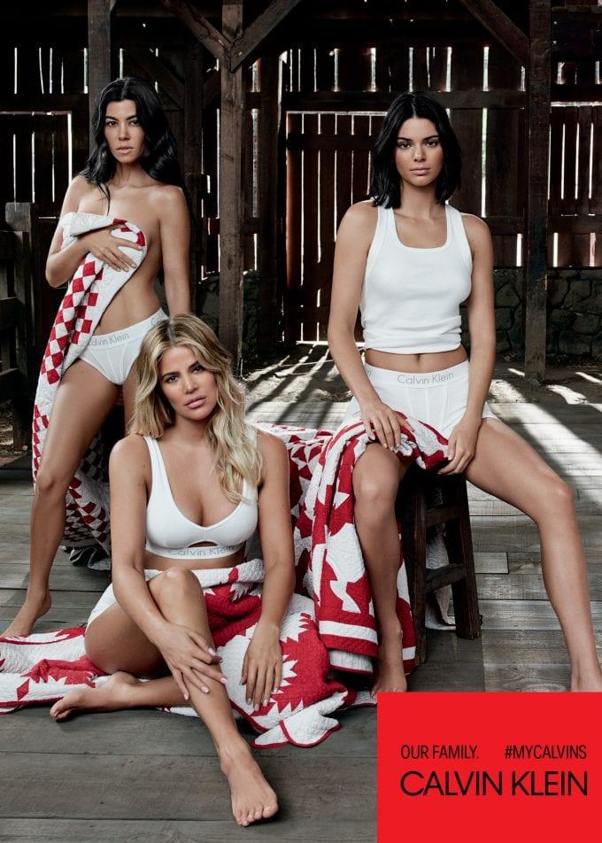 Calvin Klein #MYCALVINS campaign launched by Kim Kardashian West, Khloé Kardashian, Kourtney Kardashian, Kendall Jenner and Kylie Jenner
