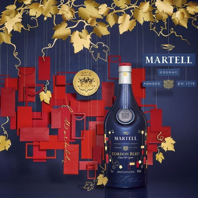 Martell launches Cordon Bleu Chinese New Year Limited Edition in duty-free