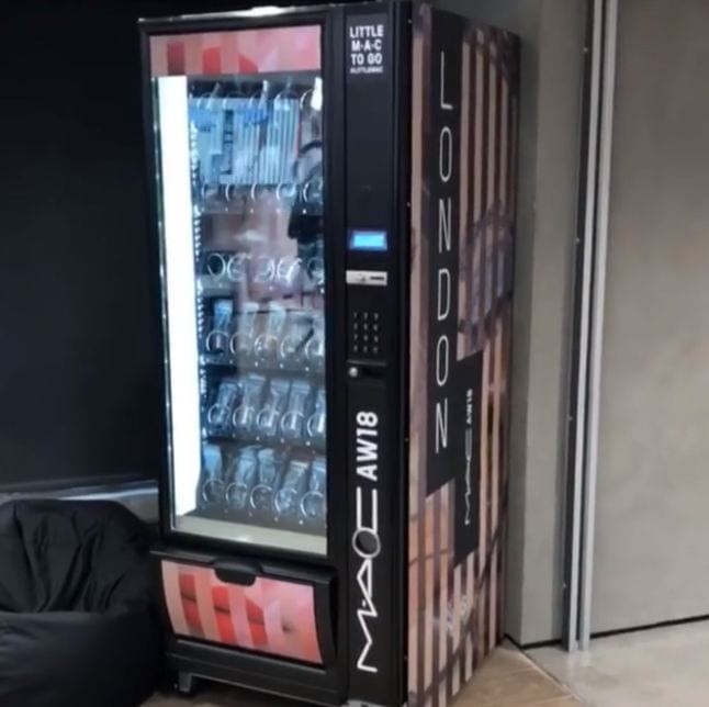 What every airport needs is a MAC vending machine…