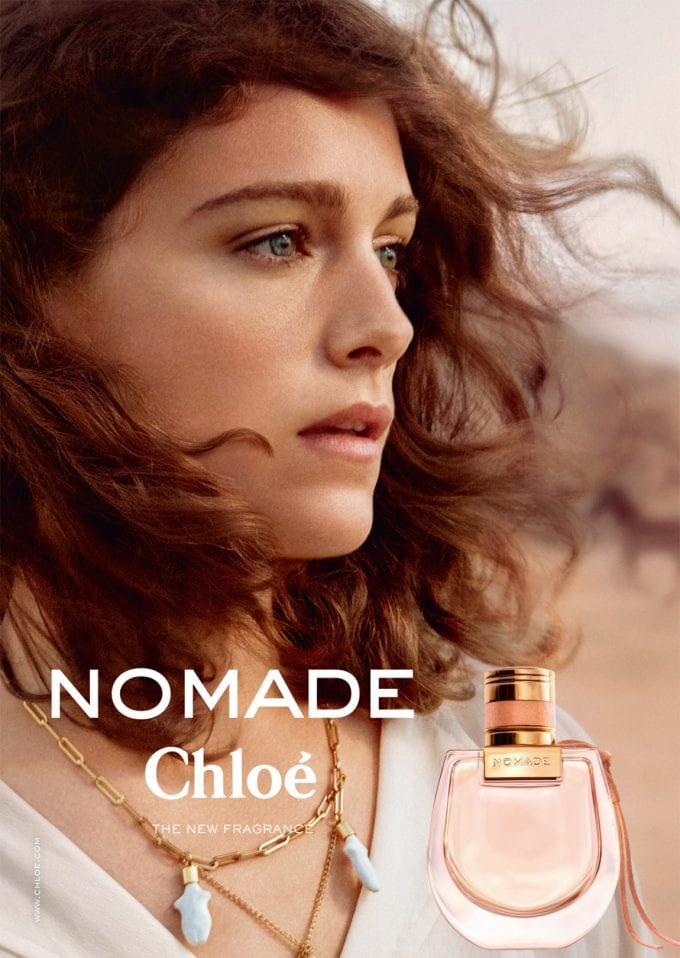 New Chloé Nomade fragrance travels into duty-free stores