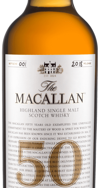 Worth Flying for… The Macallan 50 Years Old 2018 release