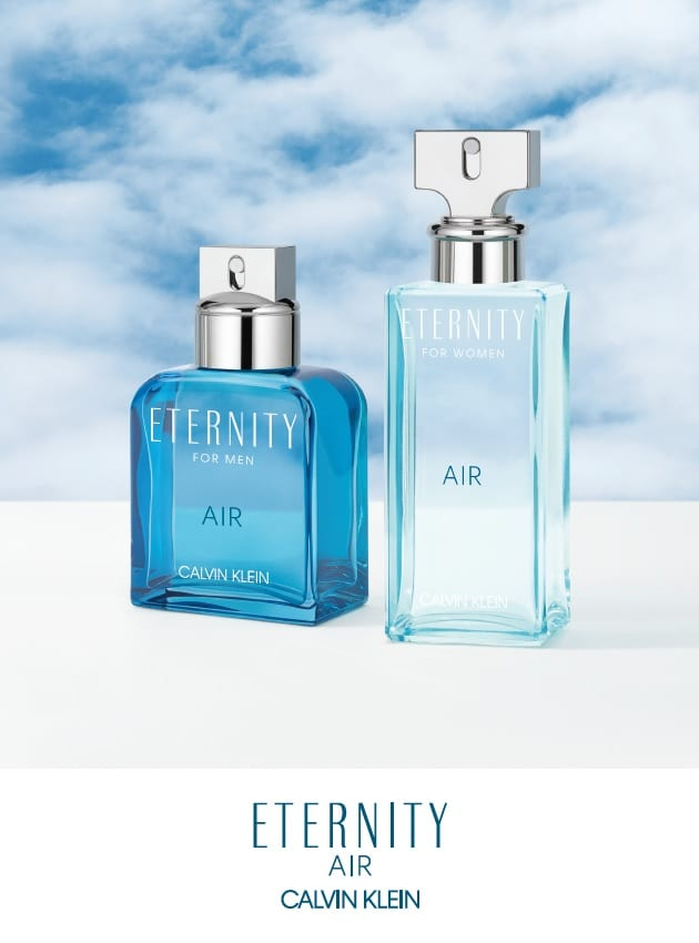 5cbc267531 Calvin Klein releases ETERNITY AIR duo in duty-free - Duty Free ...