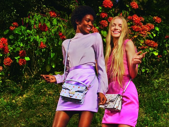 Coccinelle 'Face of Nations' shows off the new Spring bag collection