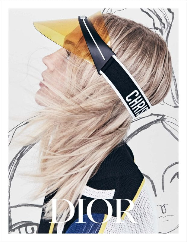 J'adior your visor! This summer's must-have shades from Dior