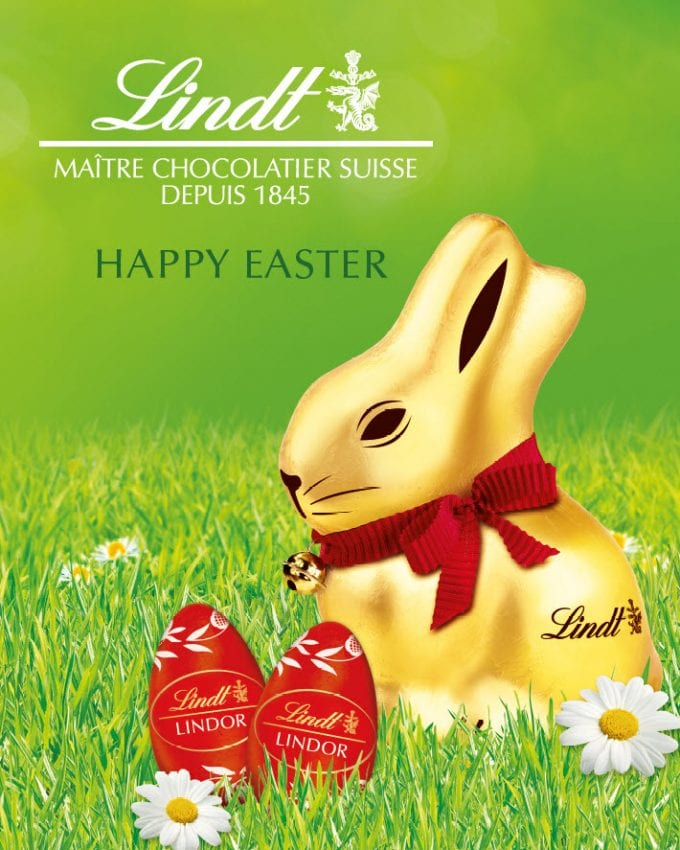 LINDT lands a giant Easter surprise at Zurich Airport