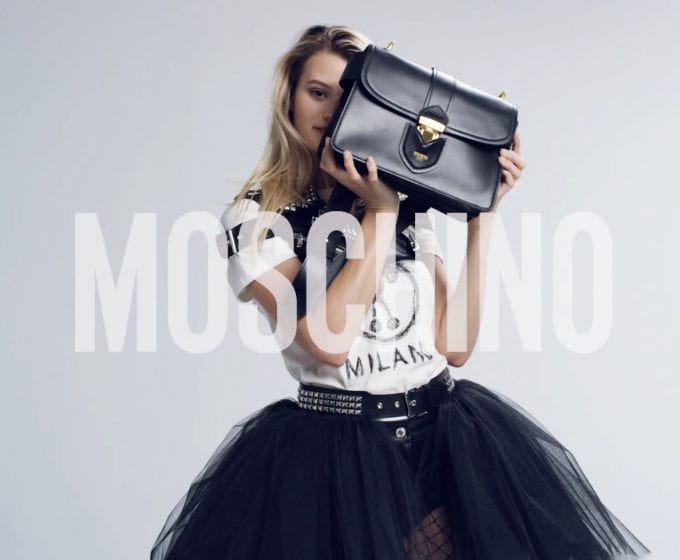 Worth Flying For… 1970's sophistication returns with the Moschino Hidden Lock