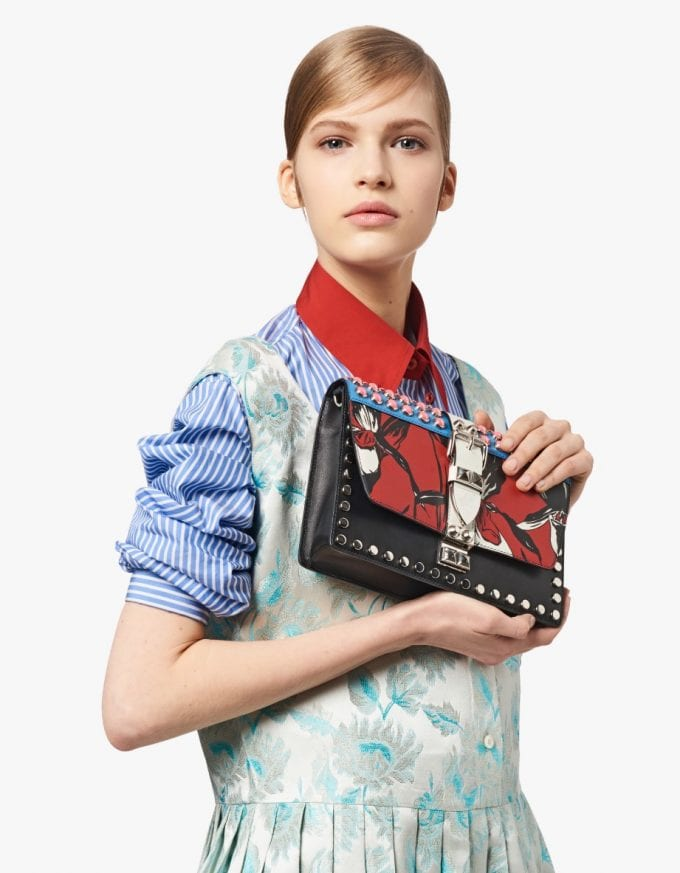 Prada rocks out with new Elektra bags