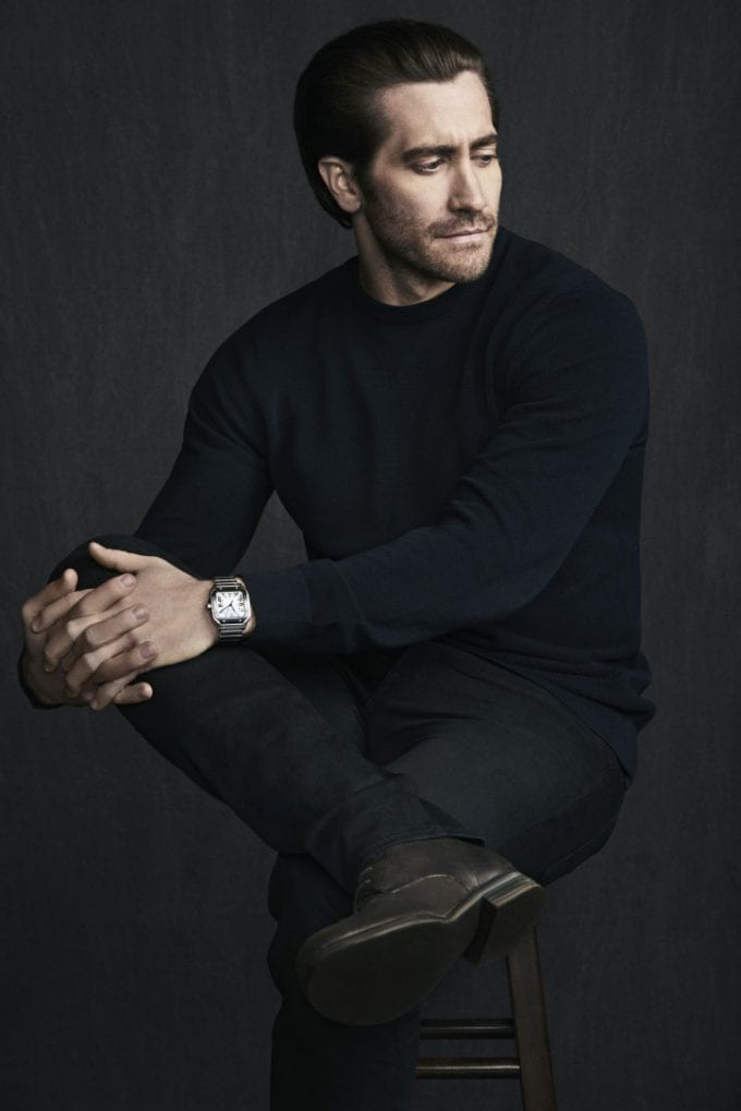 Cartier unveils Jake Gyllenhaal as the face of its Santos de Cartier watch