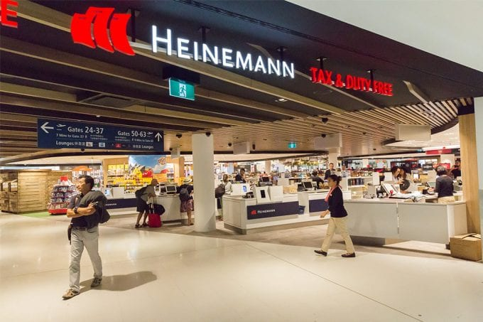 Check out Sydney Airport's latest duty-free deals from Heinemann