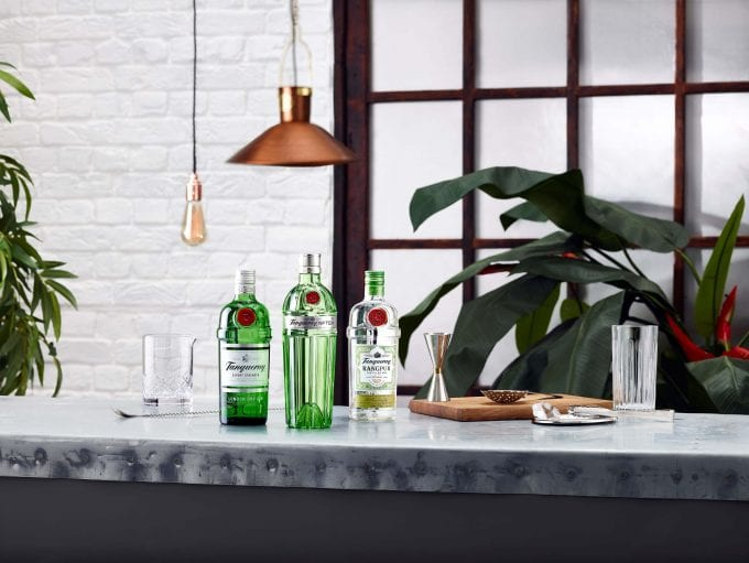 Tanqueray Rangpur Gin unveils new bottle design for global push