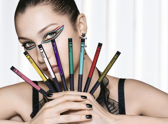 The art of colour: Dior reveals new Diorshow products with Bella Hadid