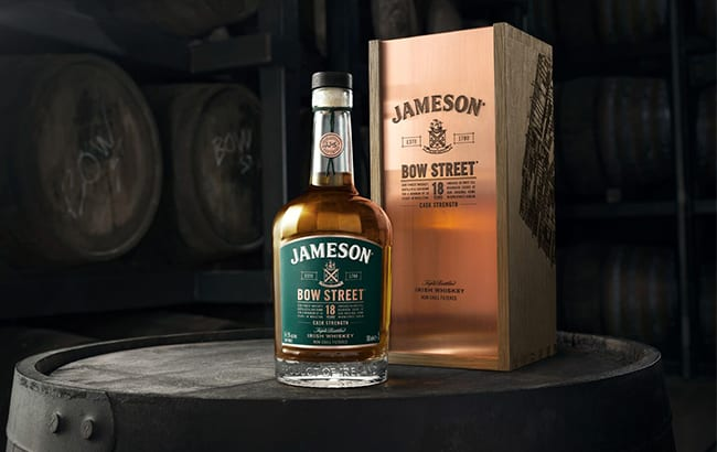 Jameson unveils Bow Street 18 Years Cask Strength whiskey