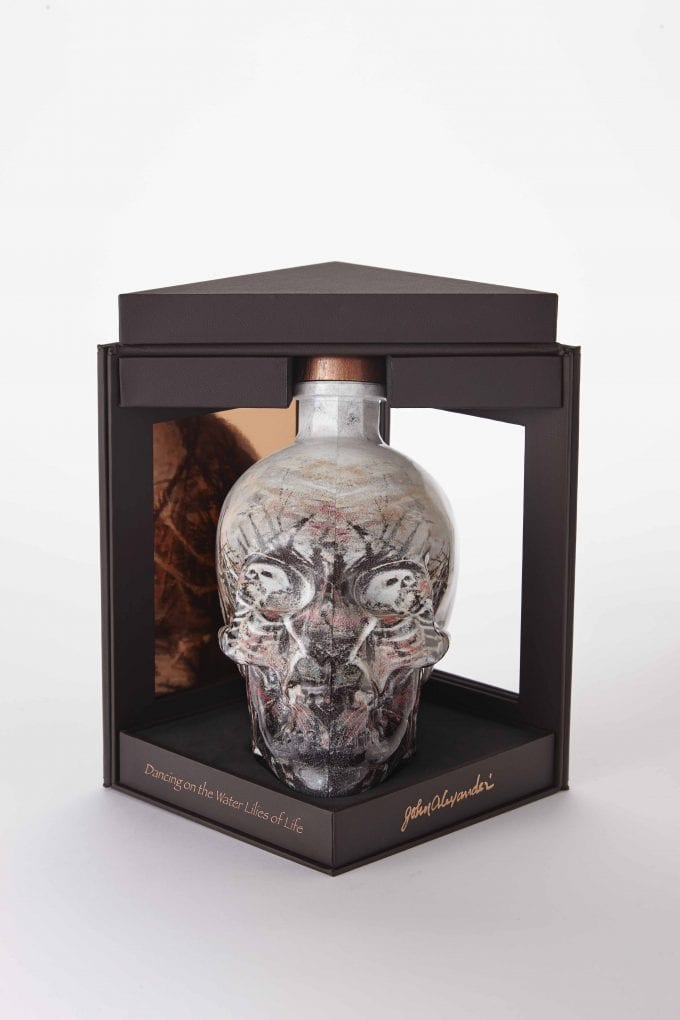Crystal Head Vodka launches exclusive hand-painted limited edition for duty-free