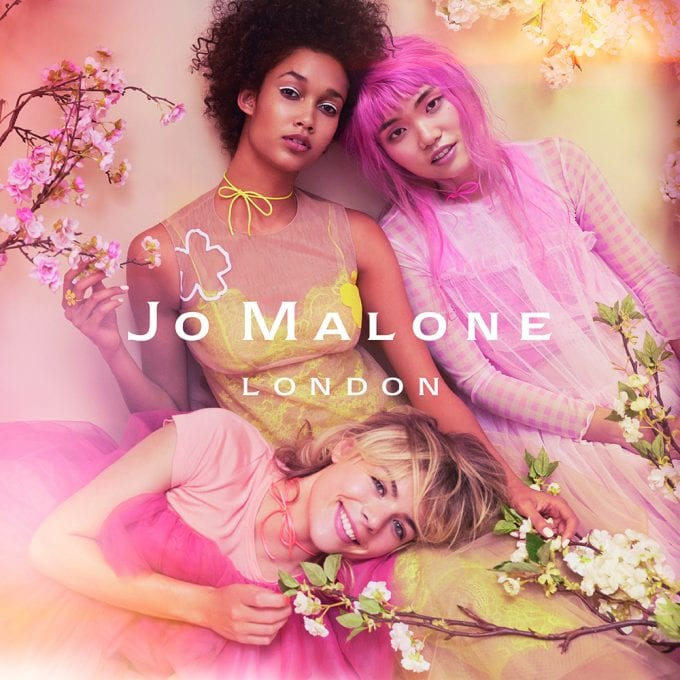 Jo Malone's Blossom Girls debut at Singapore's Shilla Duty Free