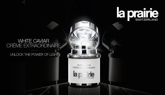 DFS treats travellers with La Prairie samples & consultations