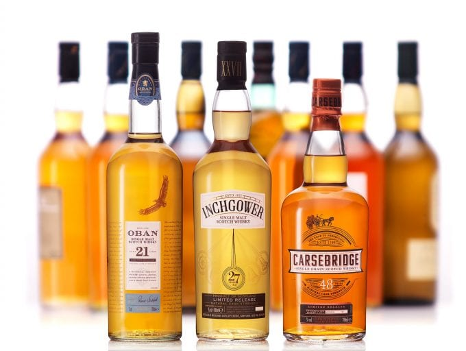 Diageo reveals its 2018 Scotch Whisky Special Releases Collection