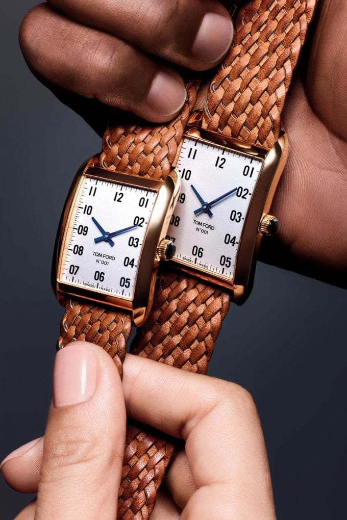 Tom Ford unveils his first watches – the 001 Collection