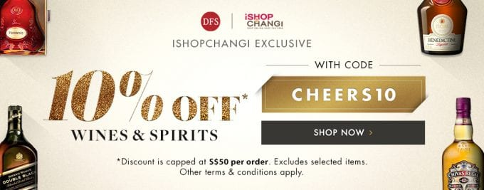 Offers galore at Singapore Changi from DFS, Shilla and more