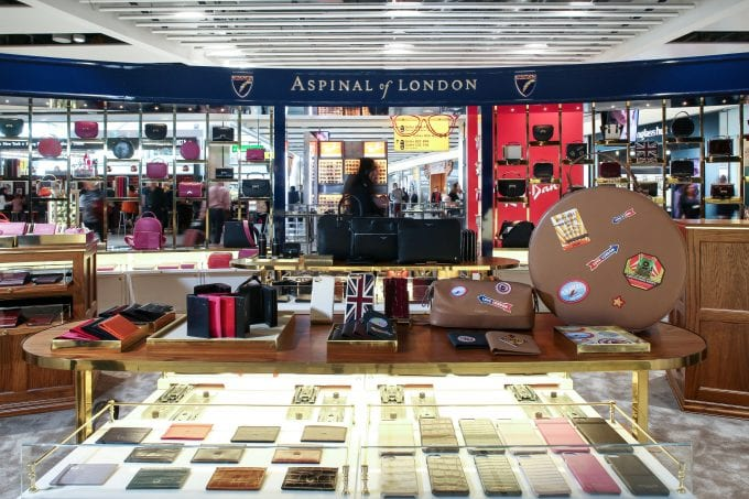 Aspinal of London pops up at Heathrow T5 for the Summer