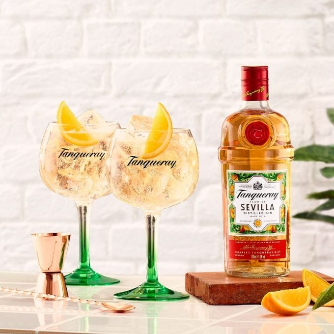 Tanqueray goes orange as new Flor de Sevilla gin heads to duty-free