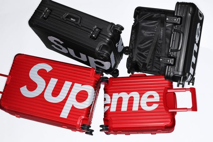 Supreme x RIMOWA spring a collaboration collection