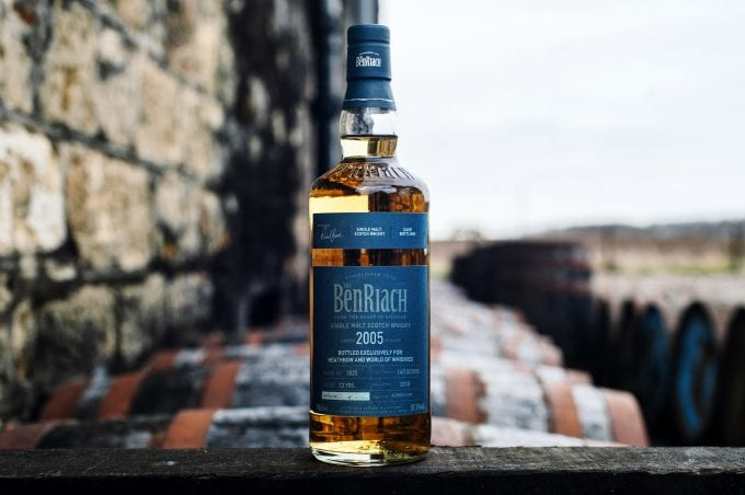 Heathrow's World Duty Free launches 'truly unique' BenRiach malt whisky bottling for travellers