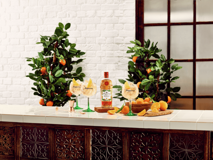 TANQUERAY Flor de Sevilla edition gets set for duty-free launch