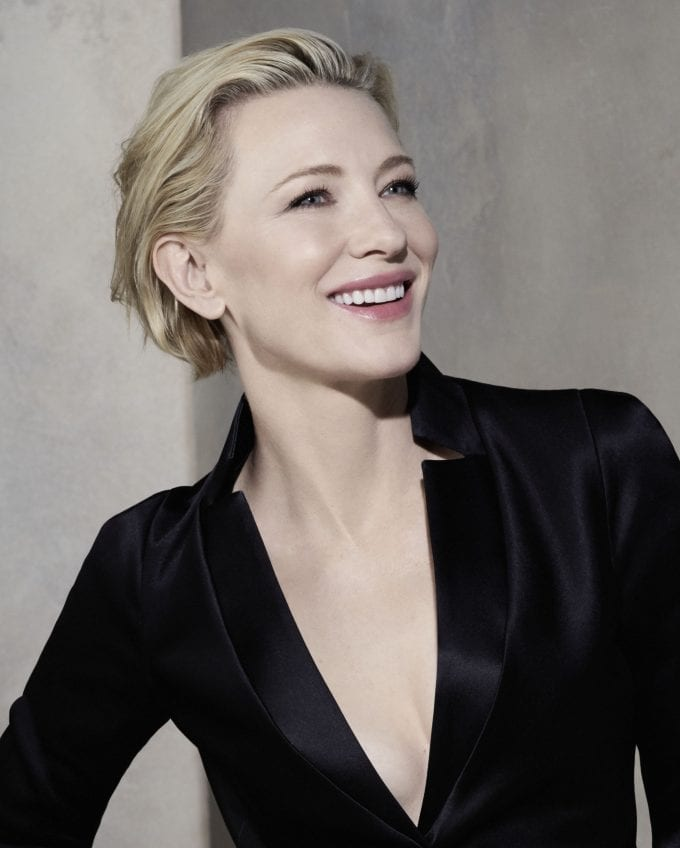 Giorgio Armani makes Cate Blanchett his first global beauty muse