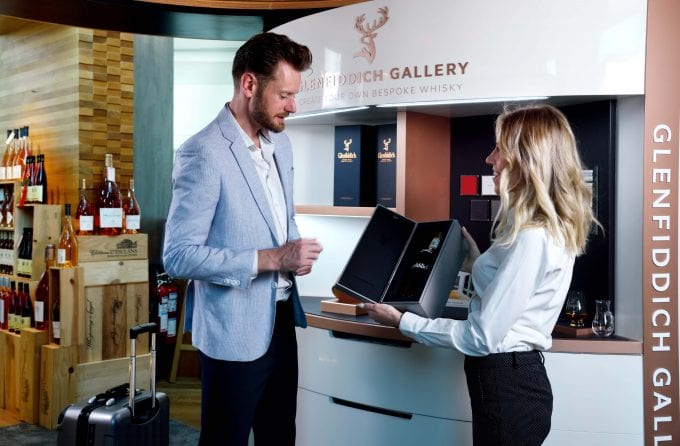 Glenfiddich Gallery bespoke whisky service opens at Dubai International