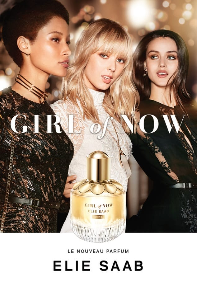 Elie Saab unveils Girl of Now SHINE at World Duty Free