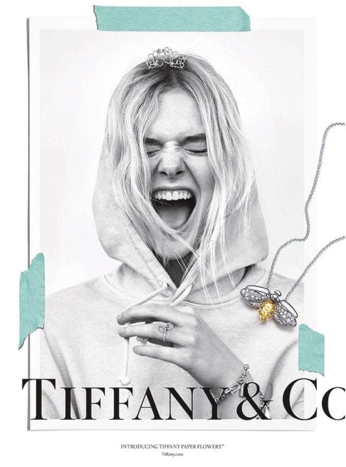 Tiffany& Co. remakes Moon River theme for new campaign with Elle Fanning and A$AP Ferg