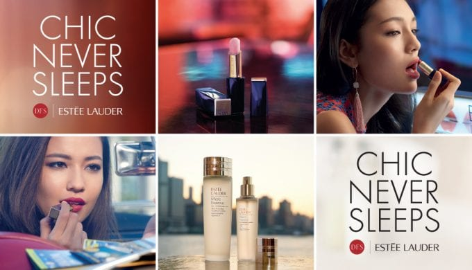 Chic Never Sleeps – Estée Lauder x DFS launch exclusive travel collection