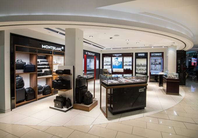 London City Airport opens luxury 'The Watch Collection' store
