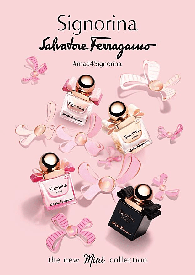 Salvatore Ferragamo Parfums launches new Mini Signorina collection
