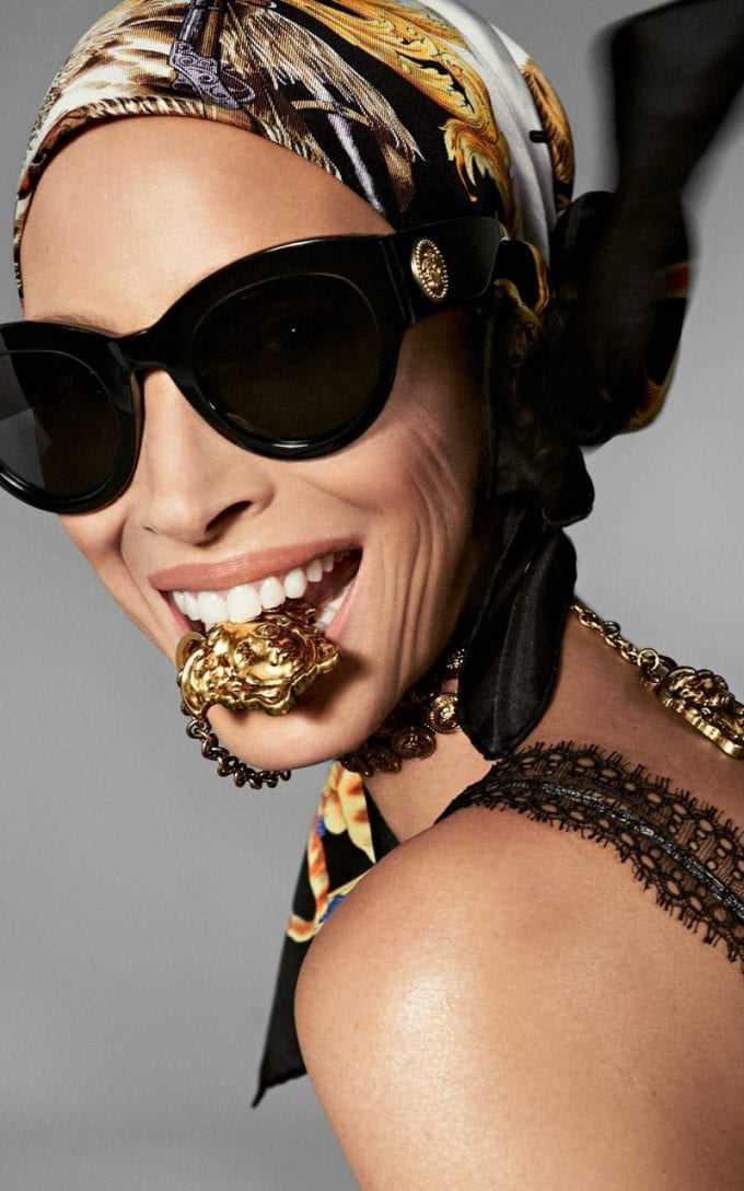 Eyes Up! Versace launches Tribute sunglasses collection