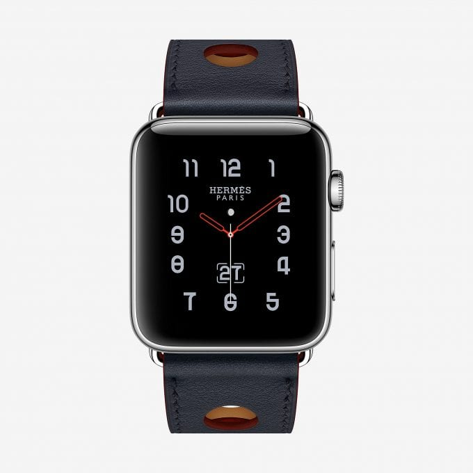 Hermès gets racy with new Apple Watch accessories