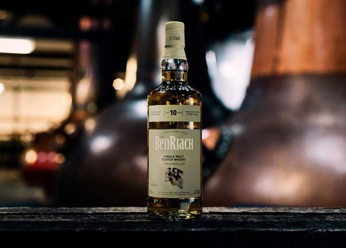 BenRiach unveils duty-free exclusive Triple Distilled 10 Year Old malt whisky