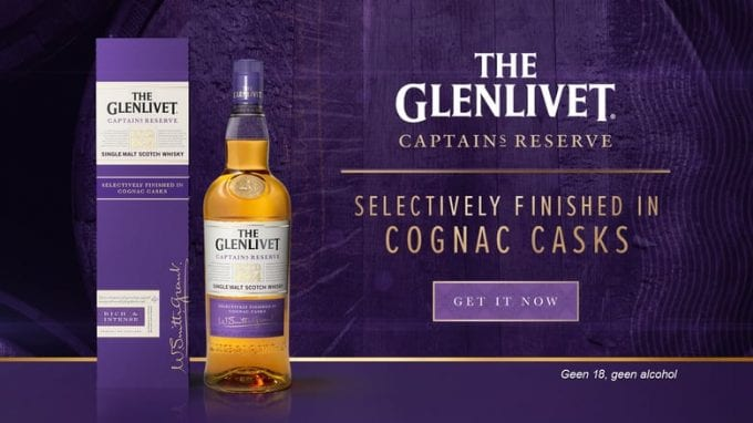 The Glenlivet Captain's Reserve debuts in duty-free with DFS