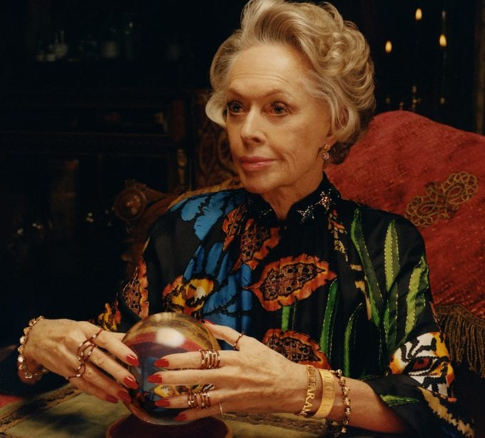 Gucci casts Tippi Hedren as lead role in new watches and jewellery ads