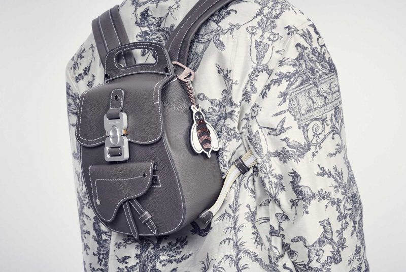 c7707b58ecdf An embroidered version of the toile de Jouy features on leathergoods