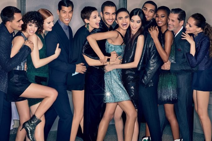 Party time as Emporio Armani unveils new AW18 campaign